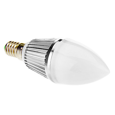 E14 8W 16 SMD 5630 650 LM Warm White LED Candle Lights V