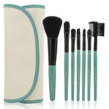 7pcs Makyaj fırçaları Profesyonel Fırça Setleri Sentetik Saç / Suni Fibre Fırça Bakterileri Kısıtlar Orta Fırça