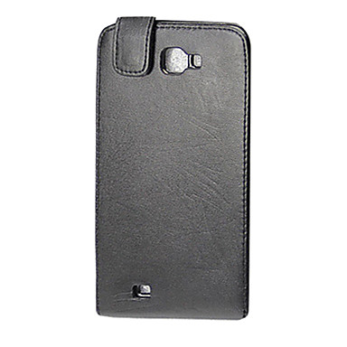 Black Ultrathin PU Leather Flip Case for Samsung Galaxy Note I9220