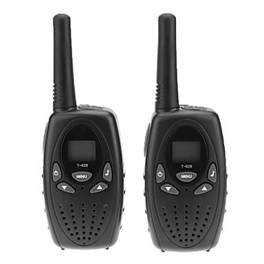 5km Çifti Twin 2-Yollu 2 İki Yönlü Radyo Walkie Talkie Çift Yönlü Radyo T-628 Set