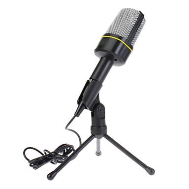 Şok Dağı Düşük gürültü Kablo Sünger Kapak ile K-700 Condenser Mikrofon Mikrofon Mavi
