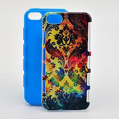 Için iPhone 5 Kılıf Temalı Pouzdro Arka Kılıf Pouzdro Geometrik Desenli Yumuşak TPU iPhone SE/5s/5