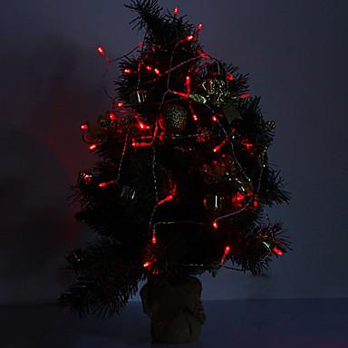 4m 3w 40 ledli 210lm kırmızı ışık led şerit ışık süslemeleri için