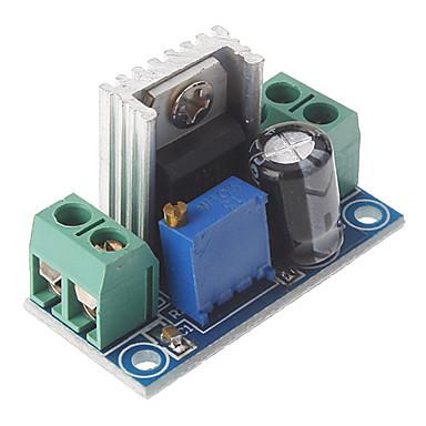 ieftine Module-lm317 dc 40v la 1.2 ~ 7v tensiune de tensiune în jos placă de circuit reglabil tensiune de alimentare regulator de tensiune