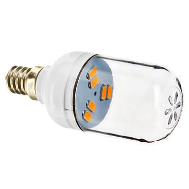 E12 Lâmpadas de Foco de LED 6 leds SMD 5730 Branco Quente 70-90lm 2800-3200K AC 220-240V