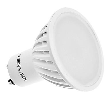 400 lm GU10 LED Spot Işıkları MR16 42 led SMD 3014 Sıcak Beyaz AC 220-240V