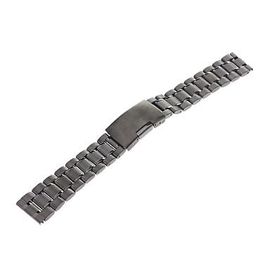 Erkek Kadın Saat Kordonları Paslanmaz Çelik #(0.067) Saat Aksesuarları