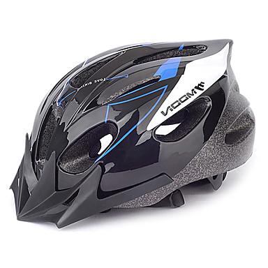 MOON Bisiklet kaskı 16 Delikler CE Bisiklet Half Shell PVC EPS Yol Bisikletçiliği Eğlence Bisikletçiliği Bisiklete biniciliği / Bisiklet