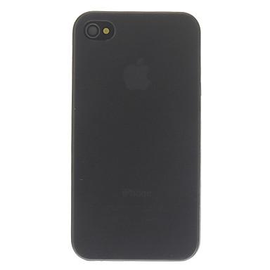 Cas dur ultra-mince de protection givré PC pour iPhone 4/4S (couleurs assorties)