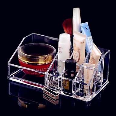 أدوات المكياج تخزين مستحضرات التجميل ميك أب 1 pcs أكريليك شبه مربع أخرى مناسب للبس اليومي تجميلي أدوات الحلاقة