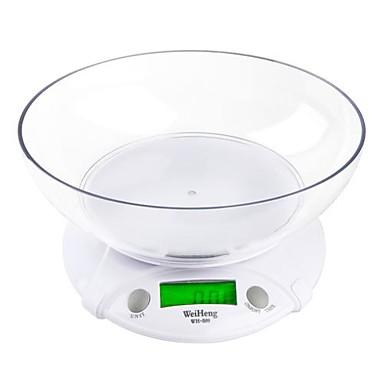 7KG * 1G Dijital Elektronik Mutfak Bowl ile Koli Gıda Kilo Ölçekler