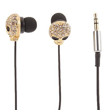 JND-085 Kulakta Kablolu Kulaklıklar Plastik Cep Telefonu Kulaklık kulaklık