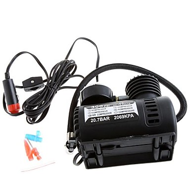 휴대용 자동차 / 자동차 12V 전기 공기 압축기 / 타이어 부 풀리는 장치 300PSI