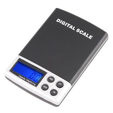 0.01g 100g Gram Dijital Elektronik Denge Ölçeği tartılır