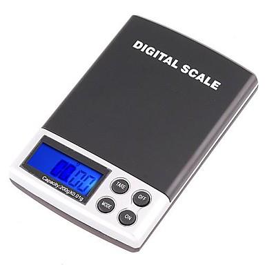200g x mini digital jewelry pocket gram scale lcd for Mini digital jewelry pocket gram scale