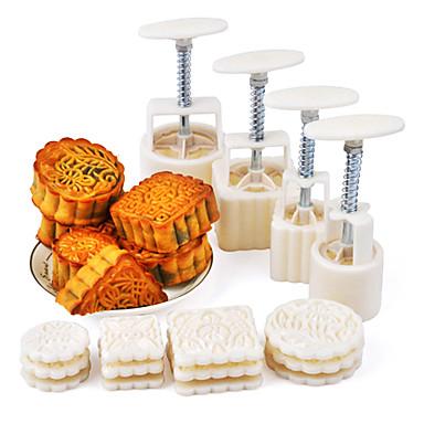Bakeware araçları Plastik / Metal Çevre-dostu / Kendin-Yap Tart / Kurabiye / Kek Pişirme Kalıp