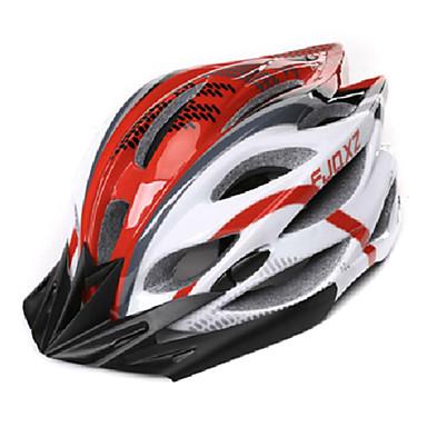 FJQXZ Bisiklet kaskı 22 Delikler Bisiklet Half Shell PC EPS Yol Bisikletçiliği Eğlence Bisikletçiliği Bisiklete biniciliği / Bisiklet Dağ