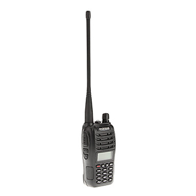 Baofeng uv-b6 uhf / vhf 400-470 / 136-174mhz 5w støjreduktion tovejs radio walkie talkie samtaleanlæg