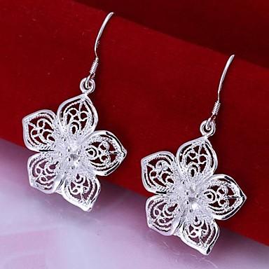 Kadın's Damla Küpeler - Gümüş Kaplama Uyumluluk Düğün Parti Günlük