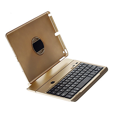 Bluetooth V3.0 64-Key Keyboard / Detachable Rotatable Aluminum Alloy Stand for iPad air(Assorted Color)