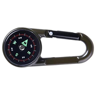 Chaveiro para Lembrancinha / Compassos / Termômetro Sobrevivência, navegação para Acampar e Caminhar - Plástico
