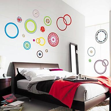 Romantizm Duvar Etiketler Uçak Duvar Çıkartmaları Dekoratif Duvar Çıkartmaları Malzeme Yıkanabilir Çıkarılabilir Ev dekorasyonuDuvar