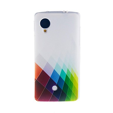 Için LG Kılıf Temalı Pouzdro Arka Kılıf Pouzdro Geometrik Desenli Yumuşak TPU LG