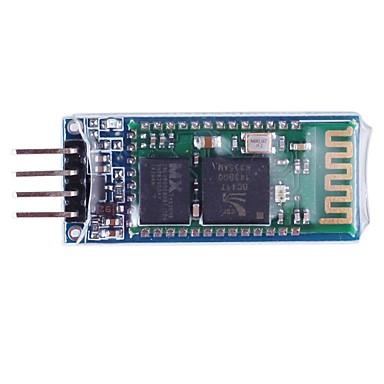 Kablo ile 4-Pin Bluetooth Yönetim Kurulu Modülü - Mavi + Beyaz