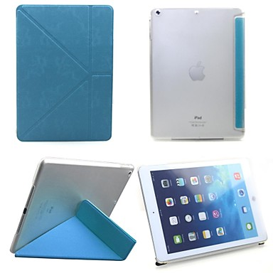 Ultra Slim Flip PU Leather Smart Cover Case with Stand for Apple iPad Air(Assorted Color)