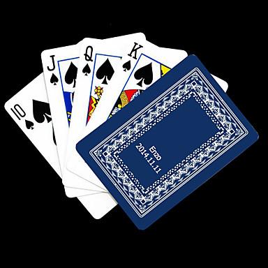 Poker Kart oynamak Kişiye Hediye Mavi Vine Pattern