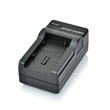 dste fullt kodet 7.4V 2100mAh bp-808 li-ion-batteri og oss plugge DC26 lader til Canon FS10 FS11 FS100 og mer