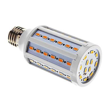 1000lm E26 / E27 LED Λάμπες Καλαμπόκι T 60 LED χάντρες SMD 5730 Θερμό Λευκό / Ψυχρό Λευκό 220-240V
