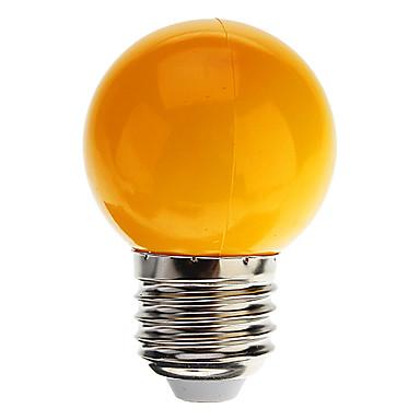 1W 100-150 lm E26/E27 Lâmpada Redonda LED G45 7 leds LED Dip Decorativa Branco Frio Azul Amarelo Verde Vermelho AC 220-240V