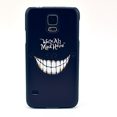 Mad Smile Pattern Hard Case Cover for Samsung Galaxy S5 I9600