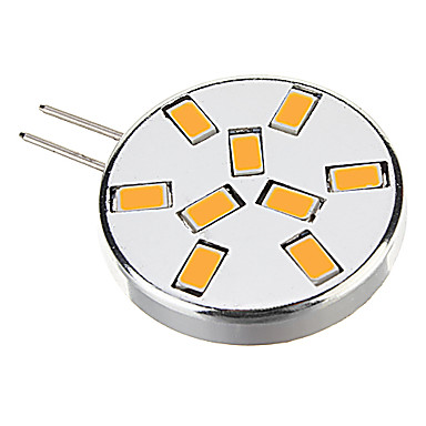 450 lm G4 LED Σποτάκια 9 leds SMD 5730 Θερμό Λευκό Ψυχρό Λευκό AC 12V