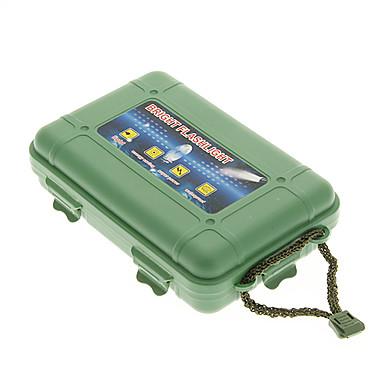 De protecție din plastic rezistent la șocuri Lanternă Case - Armata verde
