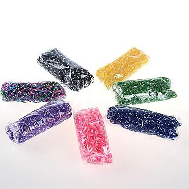 diy twistz limited edition siliconen bandz armbanden regenboog kleuren weefgetouw met 600pcs bands en 24 s-clips