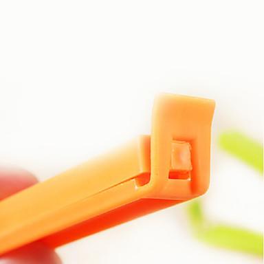 Plastik şeker renk sızdırmazlık klip (5adet, rastgele renk)