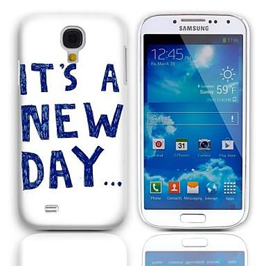 Samsung Galaxy S4 Mini I9190 için 3-Pack Ekran Koruyucu ile Yeni Gün Tasarım Hard Case