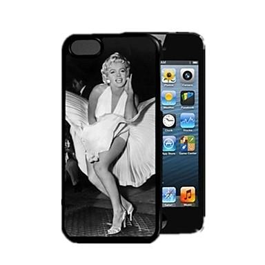 Için iPhone 5 Kılıf Temalı Pouzdro Arka Kılıf Pouzdro Seksi Kadın Sert PC iPhone SE/5s/5