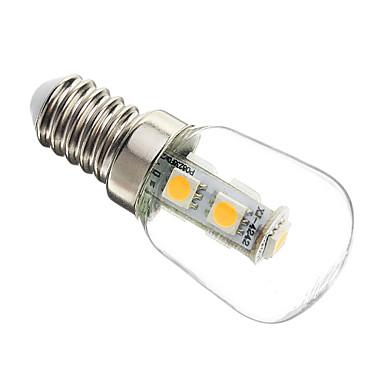 1W 60-70 lm E14 LED Mısır Işıklar T 7 led SMD 5050 Dekorotif Sıcak Beyaz AC 220-240V
