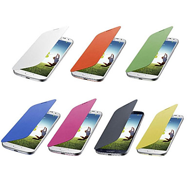 Solid Color Flip Cover Case for Samsung Galaxy S4 Mini I9190