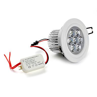 5500lm Tavan Işıkları Gömme Işıklar Gömme Uyumlu 7 LED Boncuklar Yüksek Güçlü LED Doğal Beyaz 85-265V