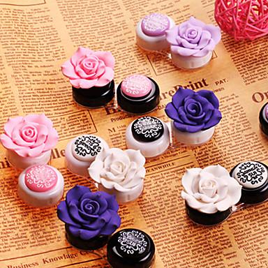 Koreli Güzel ve Lensler için güzel konteynerler (Rastgele Renk)