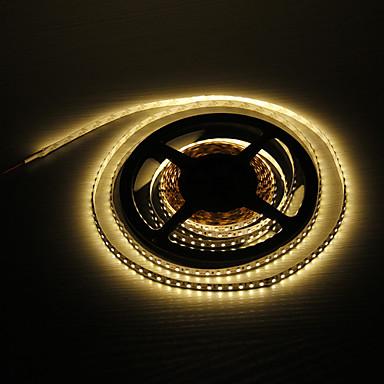 5m 48W 600x3528smd sıcak beyaz ışık led şerit lambası (DC 12V) z®zdm