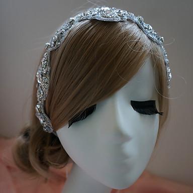 Kadın Yapay Elmas Başlık-Düğün Özel Anlar Saç Bantları
