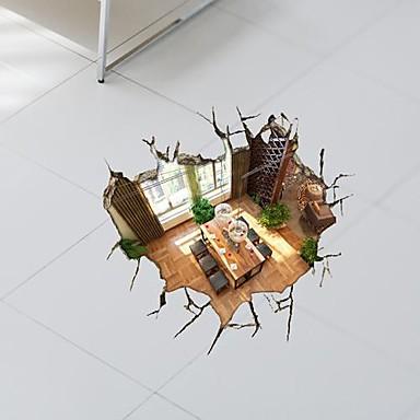 3D Bodrum Duvar Etiketler Duvar Çıkartmaları