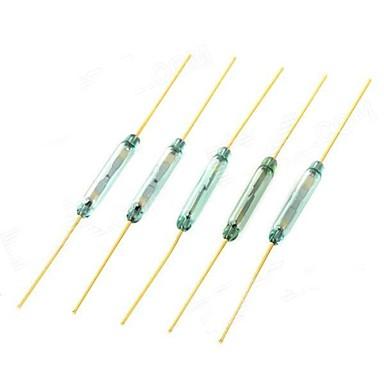 Reed Interrupteur magnétique contrôlée - Golden (5 PCS)