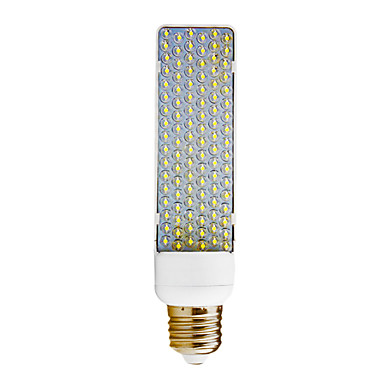 E27 6W 102-LED 240LM 8000K Cold White Light LED Corn Bulb (220V)