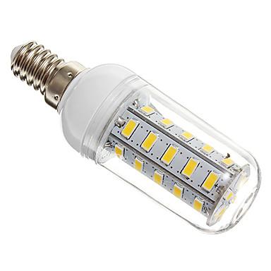 4W 360lm E14 LED Mısır Işıklar T 36 LED Boncuklar SMD 5730 Sıcak Beyaz 220-240V